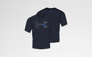 UA Under Armour Thin Blue Line T-Shirt