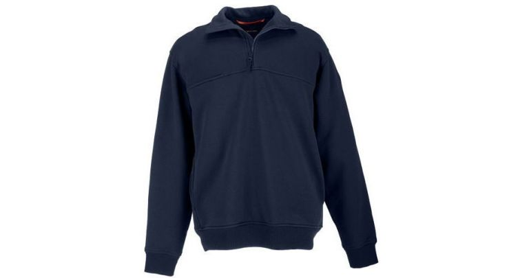 5.11 Tactical 1/4 Zip Job Shirt - Fire Navy