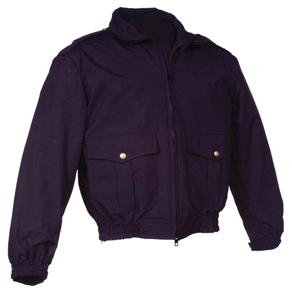 "Anchor 26"" Waist Length Waterproof Jacket - Navy"