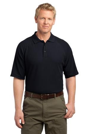 CornerStone EZCotton Tactical Polo - Navy