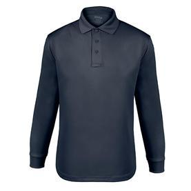 Elbeco UFX Performance Long Sleeve Tactical Polo For Men - Midnight Navy