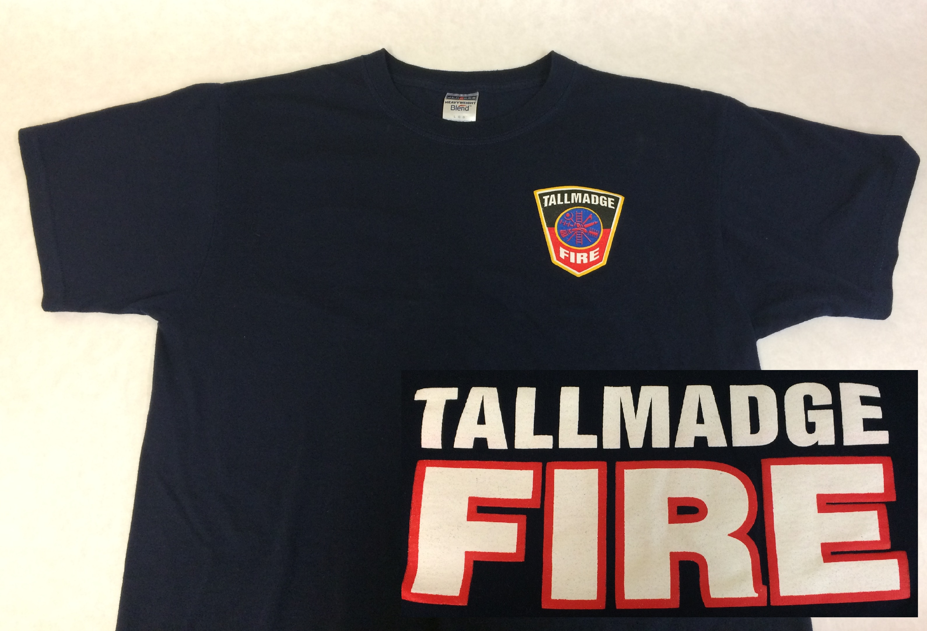 Tallmadge Fire Short Sleeve T-Shirt