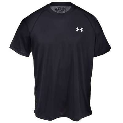 UA Tech Men\'s T-Shirt - Black