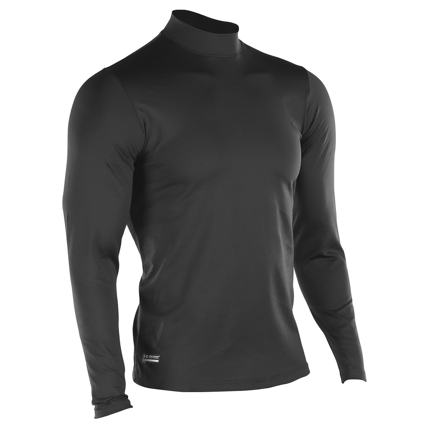 UA Coldgear Infrared Tactical Fitted Mock - Black