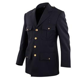 Class A Elbeco Top Authority 4-Pocket Single-Breasted Blousecoats - Dark Navy