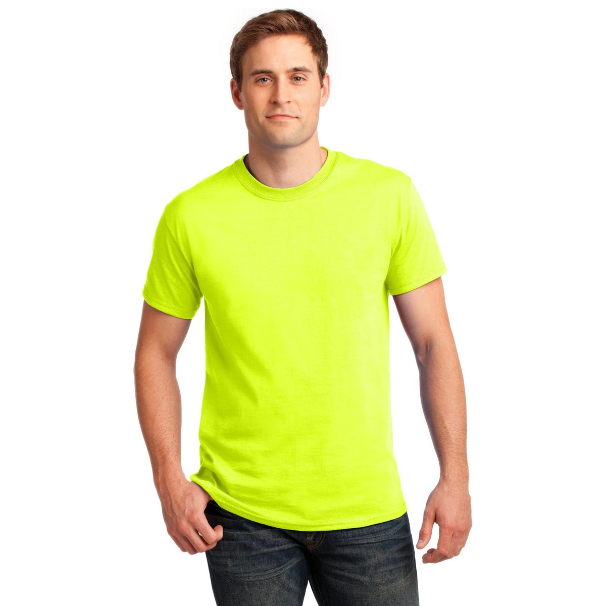 University of Akron Police Academy Safety Green Shirt