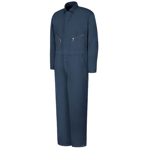Insulated Twill Coverall - Navy